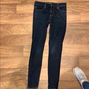 American eagle dark skinny jeans